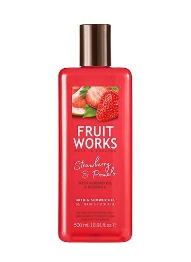 Fruit Works Strawberry & Pomelo Duş Jeli 500 ml Renksiz